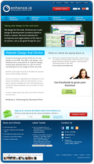 Enhance Website 2011