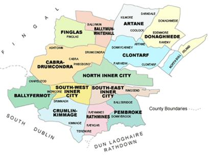 dublin city enterprise board catchment area